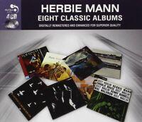HERBIE MANN - 8 CLASSIC ALBUMS 4 CD NEW