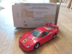 Matchbox Ferrari F40 1988 Sports Car Collectors Toy Vintage Red Scale 1:59 Box
