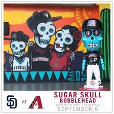 FREE shipping to ARIZONA ONLY - SUGAR SKULL Day Dead BOBBLEHEAD DIAMONDBACKS SGA