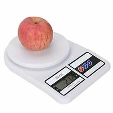 10KG/0.1g Kitchen Scale Mail LCD Digital Scale For Food Digital Weight White
