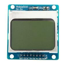 3.3V~5V LCD Screen Display Module White Backlight adapter PCB for Nokia 5110