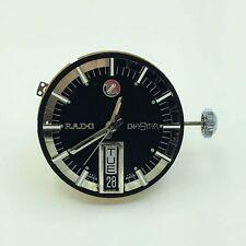 Vintage Rado Swiss Dia Star 17J Unadj Automatic Day/Date Watch Movement & Dial