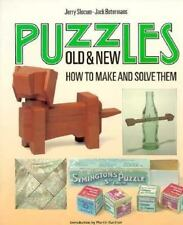 Puzzles Old and New: How to Make and Solve Them, Jerry Slocum, Jack Botermans, G