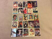 HALL OF FAME Baseball Card Lot 1977-2020 ICHIRO CHIPPER JONES MIGUEL CABRERA +