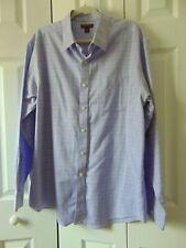 Red House Mens Shirt  XL Non-Iron Purpel/Lavendar NWOT Long Sleeve Button