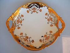Stouffer Studios Isadore Bardos JPL Pouyat Limoges Art Nouveau Handled Platter