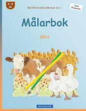 Little Explorers: BROCKHAUSEN Målarbok Vol. 1 - Målarbok : Gård by Dortje...