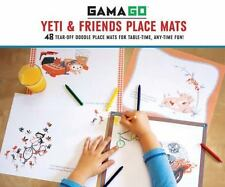 Gamago Yeti and Friends Place Mats by Gamago (2013, Novelty Book)