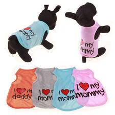 1PCS Cute Puppy Harness Summer Dog Clothes Coat Shirt Dog Vest Clothes G12