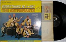 THE ASTRONAUTS,Everything Is A-OK,Vinyl LP,1964,VG,Stereo,LSP 2782,Surf Rock