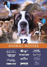 Animal Movies - Family Film 12 Pack: Lassie: The Painted Hills - A Dog's Take -