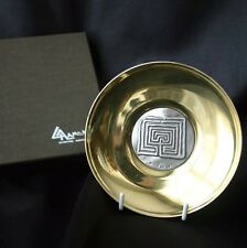 ILIAS LALAOUNIS Labyrinthe 900 Silver & Bronze Dish