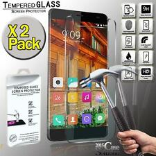 2 Pack Premium Real Tempered Glass Film Screen Protector for Elephone S3