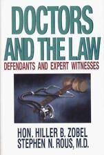 NEW - Doctors Law by Zobel, Hiller B.; Zobel; Rous, Stephen N.
