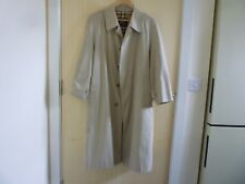 Vintage BURBERRY Imperméable/Trench Coat Tour De Poitrine 40/42
