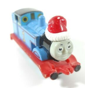 ERTL Thomas The Tank Engine & Friends 2001 Christmas Santa Hat Thomas Die Cast