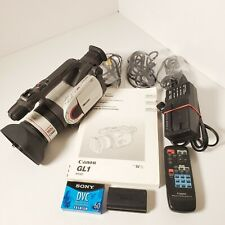 Vtg Canon Dm-Gl1A Digital Video Camcorder Fluorite 100X Zoom 20x Lens (Parts?)
