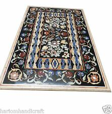 4'x2' Marble Dining Table Top Rear Mosaic Dinning Room Decorative Garden H1527