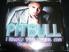 Pitbull I Know You Want Me (Calle Ocho) Australian CD Single