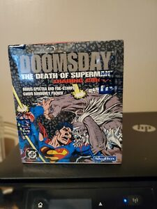 DOOMSDAY THE DEATH OF SUPERMAN 1992 SKYBOX - SEALED BOX