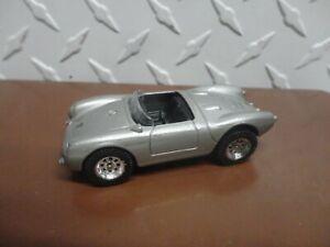 Loose Maisto Silver Porsche 550 A Spyder