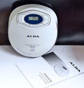 ALBA Personal CD Player Walkman - Model PCD267Xi. Good Working Order. Music