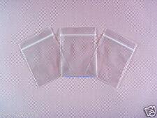 "1500 Clear Reclosable Zipper Plastic Ziplock Bags 2.4 Mil_2.7"" x 3.9""_70 x 100mm"