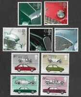 Classic Cars-Great Britain 2 sets mnh-Automobiles-transport
