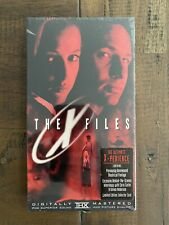 The X Files Movie .Limited First Edition VHS ..Brand New Sealed