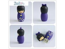 Clé key USB Kokeshi, poupée japonnaise, Flash drive, USB-Stick 16Gb Go
