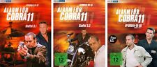 7 DVDs * ALARM FÜR COBRA 11 - STAFFEL 3.1 + 3.2 + 4/5 IM SET # NEU OVP §