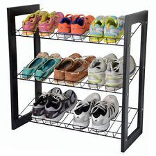Range-chaussures noir pour la maison