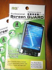 Lot of 3 PCS RG Professional Screen Guard Blackberry 8300 8310 8320 8330