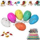 5pcs Cute Magic Growing Dino Egg Add Water Hatching Dinosaur Egg Toys E
