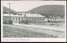 INDIANTOWN GAP PA Army Camp Mess Hall Battery St Vtg PC