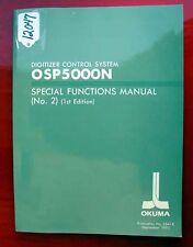 Okuma Digitizer Control System Special Functions Manual 3541-E (Inv.12047)