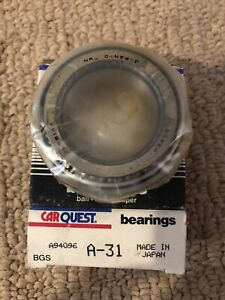 BCA/bower A31 Bearing Top Quality Bearing , Japan Made ! In Carquest Box !