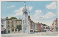 Devon Tarjeta Postal - Reloj Torre, TORQUAY - P / U 1910 (a1788)