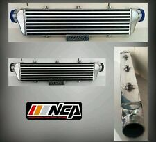 "27X6X2.5 FRONT MOUNT INTERCOOLER ALUMINUM TURBO BAR&PLATE 2.50""INLET/OUTLET"