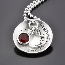 MY FAMILY 925 Silberkette Schmuck mit Gravur Kette mit Herz Namenskette