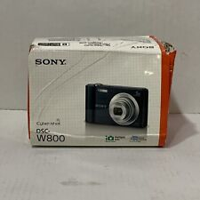 📀 Sony Cyber-shot DSC-W800 20.1MP  5x Optical Zoom - Black