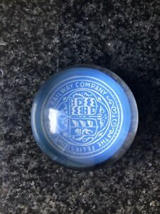 Paperweight Showing a Picture of FELIXSTOWE DOCK & RAILWAY COMPANY Emblem
