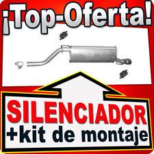 Silenciador Trasero FIAT GRANDE PUNTO (199) OPEL CORSA D 1.4 HJF