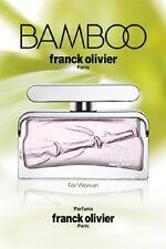Bamboo by Franck Olivier EDP Eau De Parfum Genuine Parfum for Woman 75ml