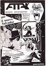 Attak rivista autogestita - Dissidenze - Contestazione-Controcultura ( 21720 )