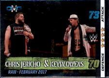WWE Slam Attax - 10th Edition-nº 69-Chris Jericho & Kevin owens-OMG