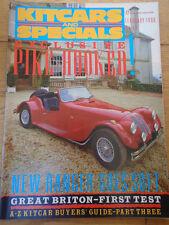 Kitcars & Specials Feb 1988 Briton Hazelgrove, Pike Invader, Rickman Ranger