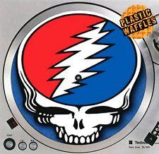 "The Grateful Dead Face #1 Slipmat Turntable 12"" LP Record Player, DJ Audiophile"