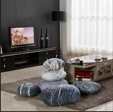 set Patterned pebble stone pillow/pillowcases rock cushion/cushion covers gift A