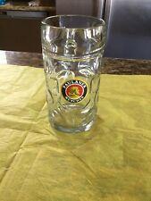 Paulaner Munchen 1 Liter Dimpled German Beer Mug